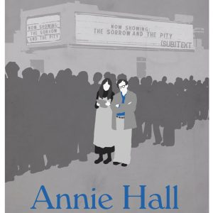 Cover art for (sub)Text Literature and Film episode on Woody Allen's Annie Hall