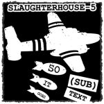 """Cover art for (sub)Text Literature and Film episode on Vonnegut's """"Slaughterhouse Five"""""""