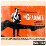 "Cover art for (sub)Text Literature and Film episode on ""The Graduate"""
