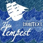 """Cover art for (sub)Text Literature and Film episode on Shakespeare's """"The Tempest"""""""