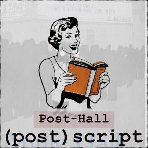 (post)script Post Annie Hall cover image.
